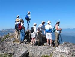 Top of McDonald Peak