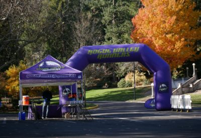 Lithia Loop Trail Marathon Course