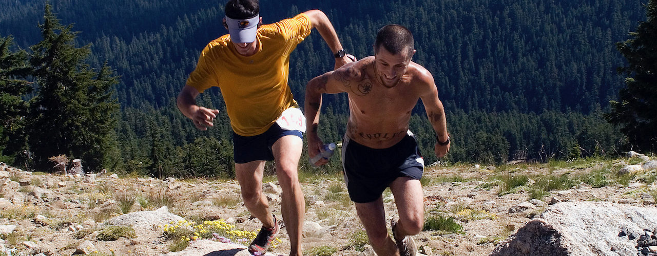 Mt Ashland Hillclimb Run (race route)